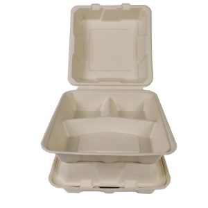 3 Compartment Lunch Box  - 9x9